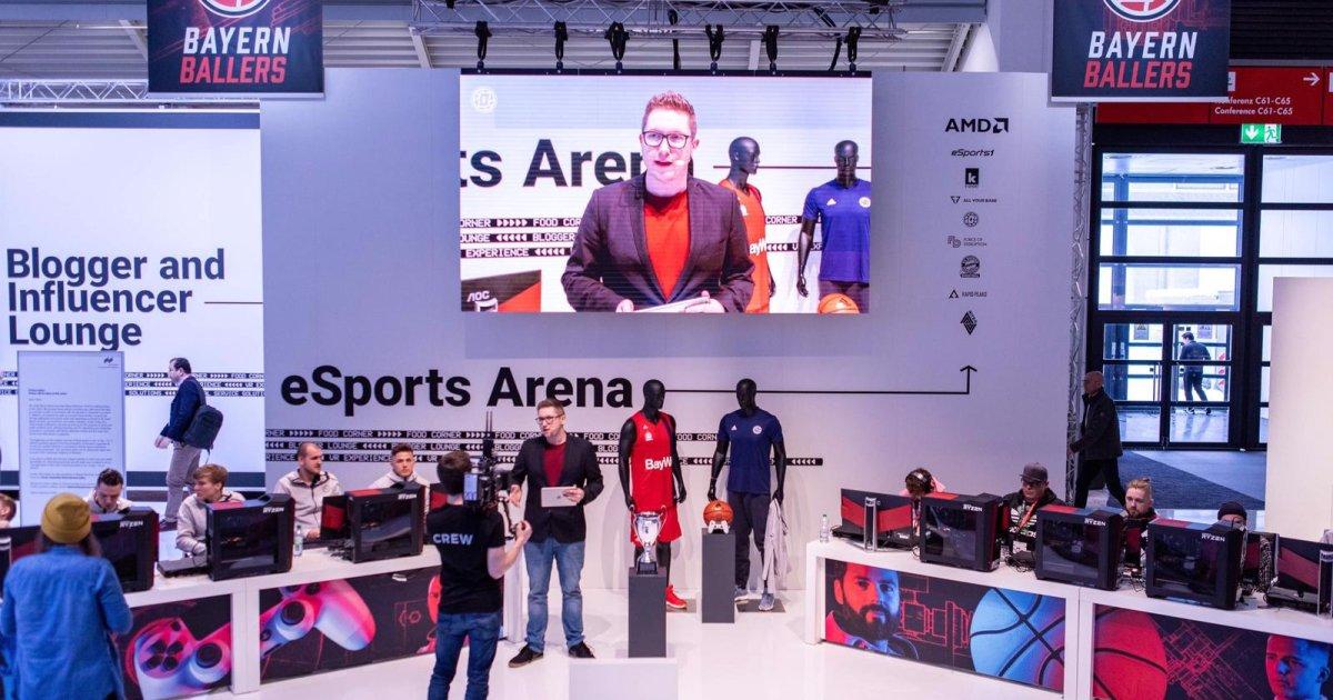 Live Stream: eSports at the ISPO Munich 2019