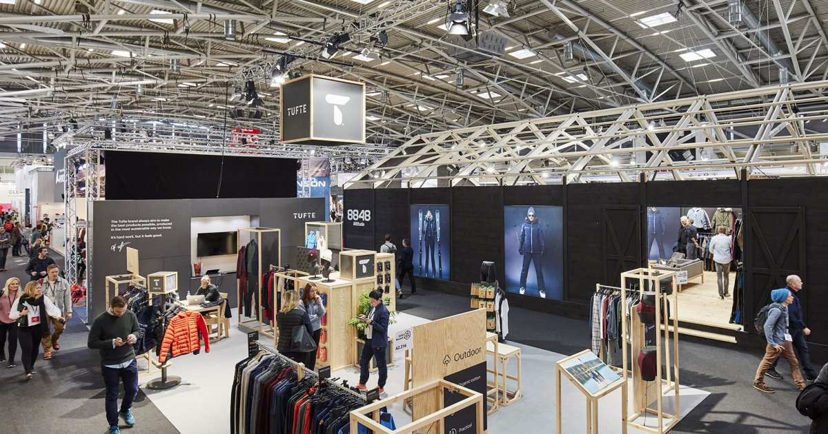 Exhibition Stand Builders In Munich : Small ispo munich stand for startups exhibitors ispo