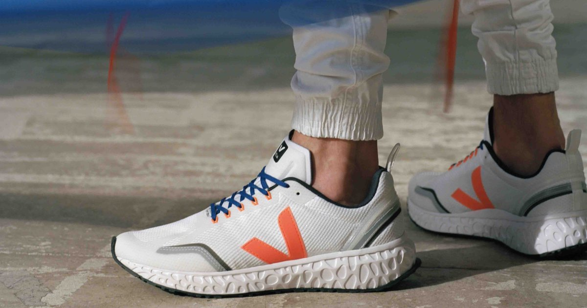 Away From Oil with Veja's New Running Shoe