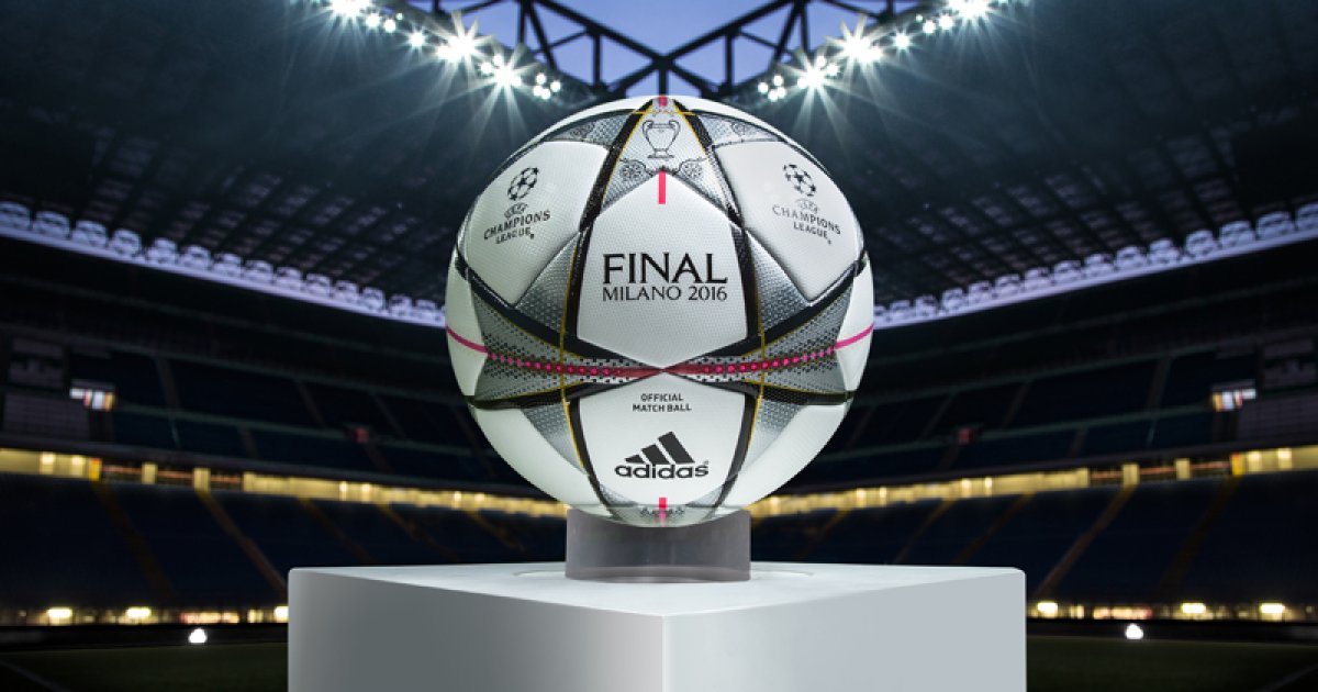 adidas presents the match ball for the champions league final ispo com