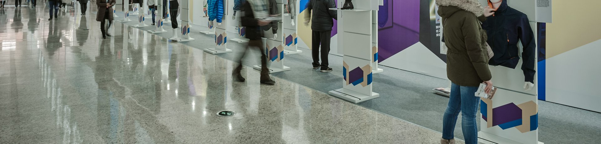 Exhibition Space at ISPO Beijing