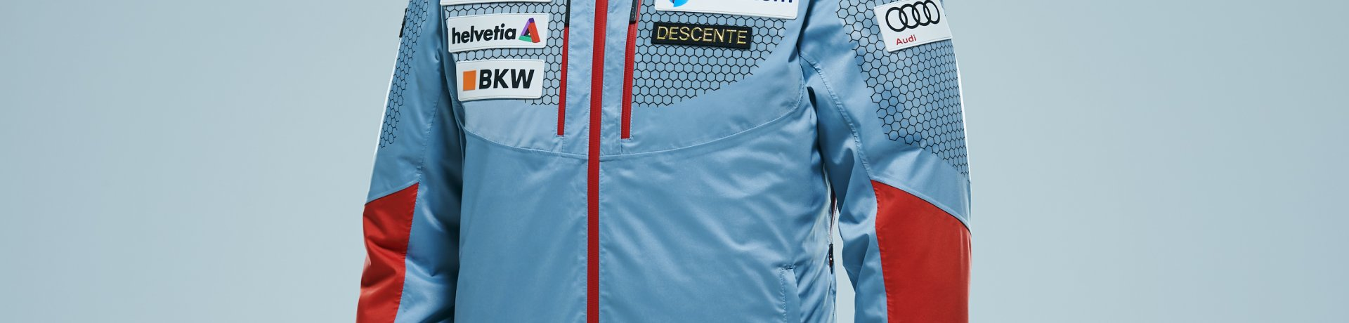 DESCENTE Swiss Ski Replica Lightweight Jacket