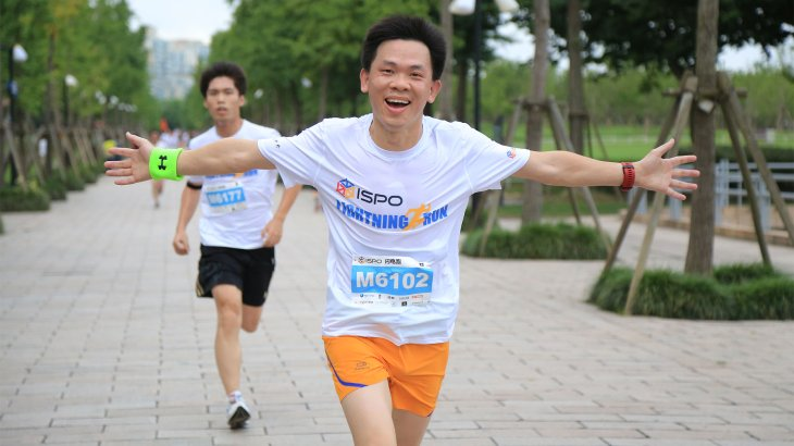 Participants of the ISPO Shanghai Morning Run