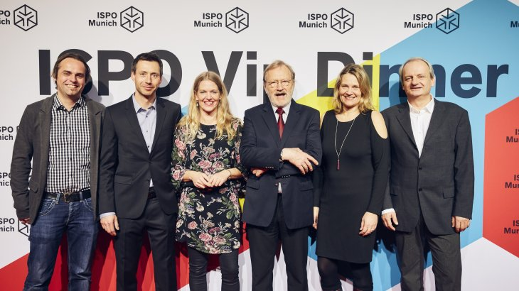 Markus Schelkle, Uwe Gottschalk, Dr. Antje von Dewitz (CEO VAUDE Sport GmbH & Co. KG), Albrecht von Dewitz (Advisory Council VAUDE Sport GmbH & Co. KG), Martina von Dewitz, Jan Lorch