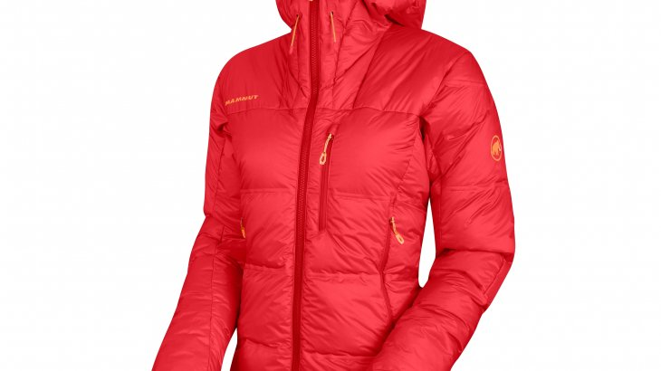 Mammut also relies on PrimaLoft® Black Insulation ThermoPlume®. Here in the Mammut Eigerjoch Pro IN Hooded Jacket.