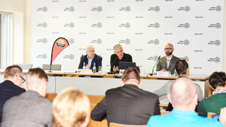 The Sport 2000 press conference at the ISPO Munich 2018.
