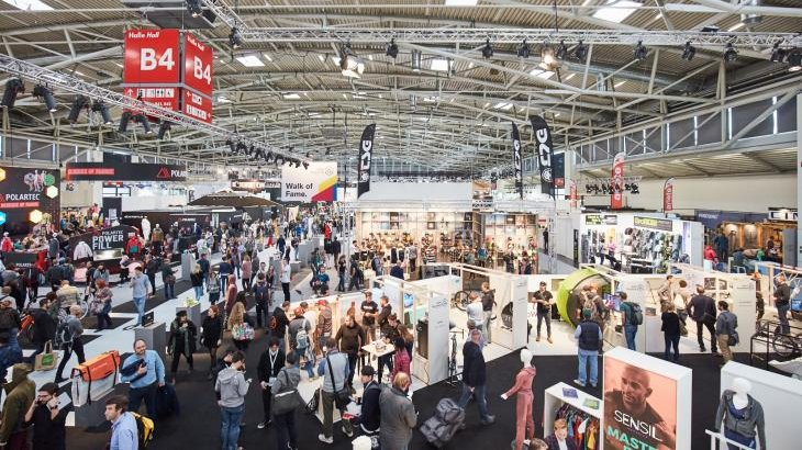 A total of 2801 exhibitors presented their latest products to the trade public in 16 halls of ISPO Munich 2018