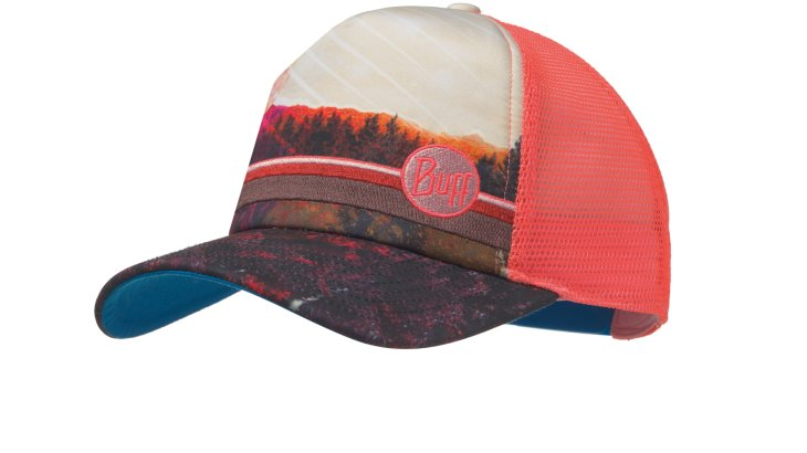 Die Buff Trucker Cap Collage Multi