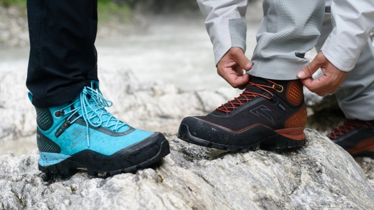 The extremely robust Forge S mountain boot from Tecnica gets alpine climbers to their destination safely, and without troublesome pressure points thanks to an anatomically pre-formed fit.