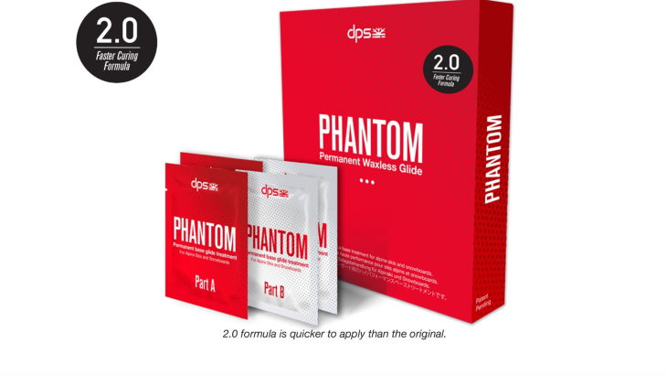 Phantom Glide offers a solution for easy ski and snowboard waxing.