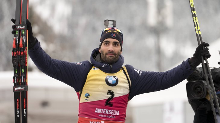 1) Martin Fourcade, 373,800 Instagram followers: The most popular Nordic ski athlete on social networks is also a biathlete. And he is also the best on track: Five times Fourcade became Olympic Champion, eleven times World Champion and in the last seven years winner of the World Cup overall ranking.
