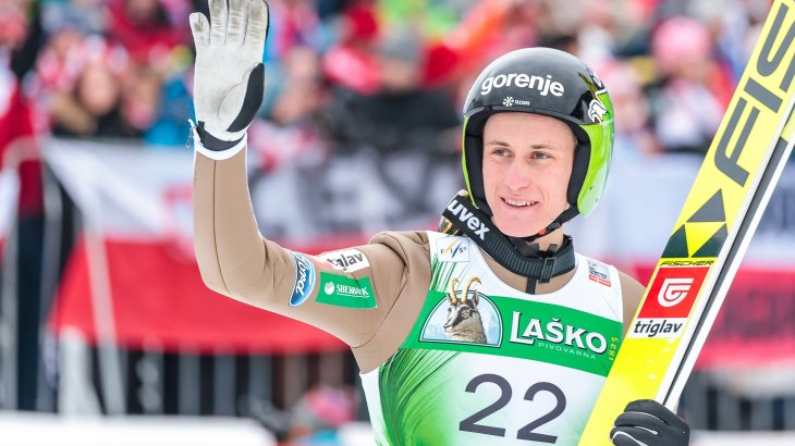 10th Peter Prevc, 120,400 Instagram followers: 2016 was the year of Peter Prevc. At that time, the Slovenian secured the Four Hills Tournament, individual gold at the Ski Flying World Championship and the overall World Cup for the 2015/16 season. His two younger brothers Cene and Domen are also jumping - as well as his sister