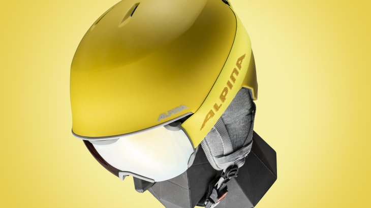 The Alpina Maroi is a compact freeride helmet that combines modern design with maximum wearing comfort.