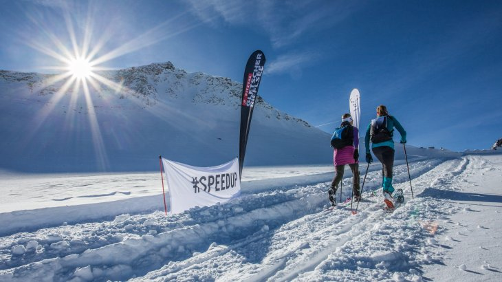 The environment is also a winner: the ski tours are canalised with the educational trails. Fewer ski touring enthusiasts try their hand at skiing on their own, thus impairing nature and the environment.