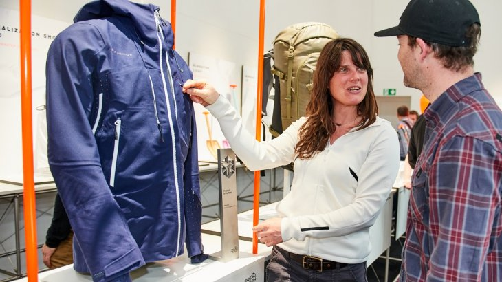 This is what a Product of the Year looks like: the Mammut ski jacket Sota HS Hooded Jacket.