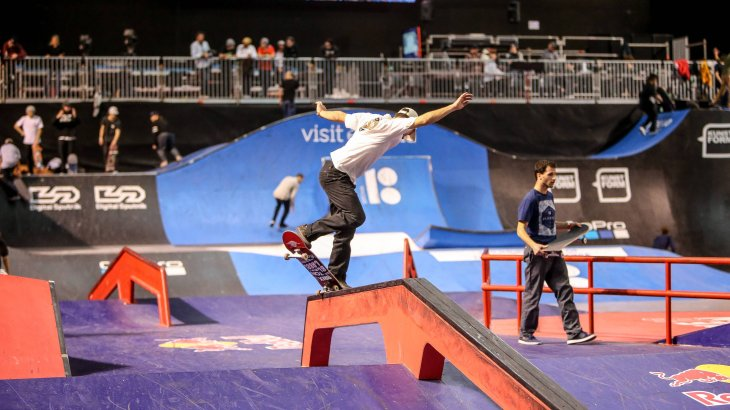 More than 80 female and male skateboarders will show their tricks and moves in the disciplines Park and Street in Tokyo in 2020.