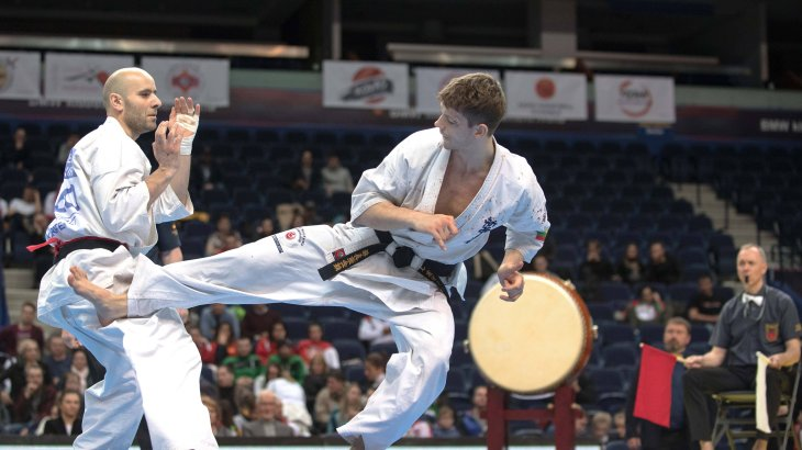In 2020, karate will give at least an intermezzo at the Olympics - with a total of 8 medal decisions.