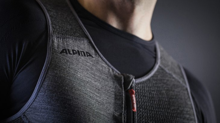 Pleasant to wear: The Prolan protector from Alpina