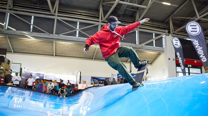 Longboard Embassy at ISPO Munich 2020