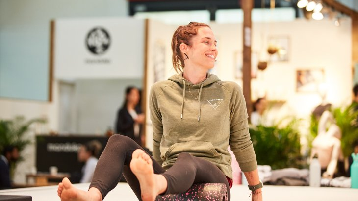 Sinah Diepold at ISPO Munich 2020