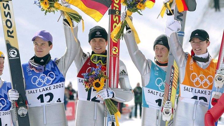Martin Schmitt Skispringen Autogrammkarte