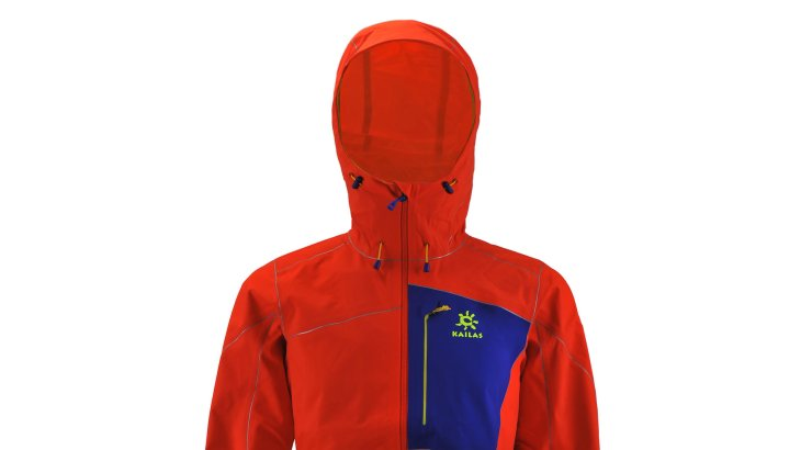 "KAILAS – ""Ice Blade"" Soft-shell Ice Climbing Jacket"