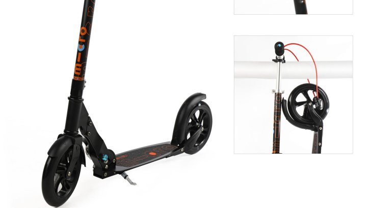 Micro – Micro Scooter Black Interlock