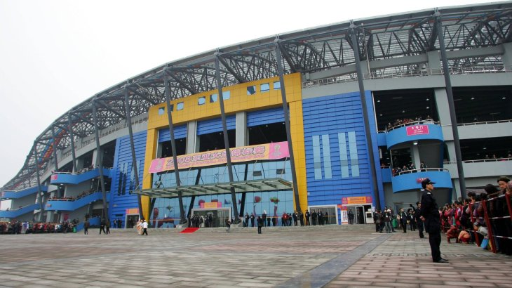 The stadiums of the Chinese Super League