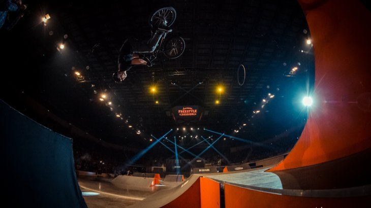 That happend because the BMX-Stars shows their best stunts.