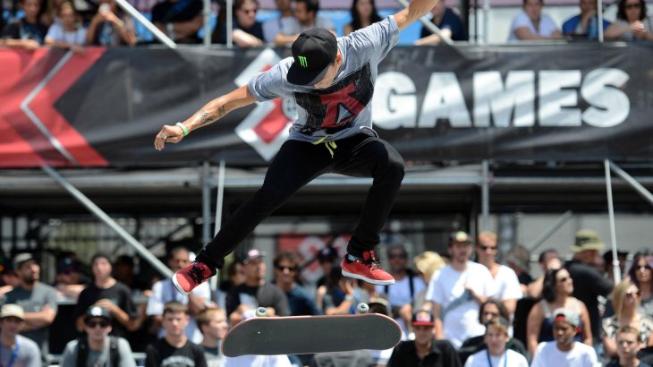 He's the most successful skateboarder in Street League Skateboarding: Nyjah Huston.