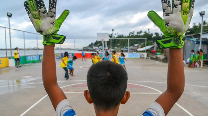 The F4L Academy in the Philippines is meant to give children a perspective: its patron, among others, is UNICEF.