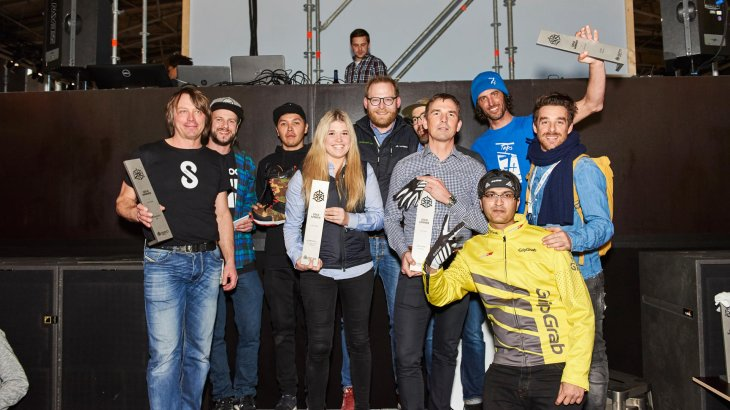 Group photo with all of the GOLD WINNERs in the Action segment.