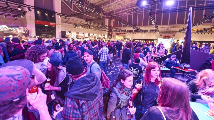 No giant booths that limit the view: POLYGON is all about brands and visitors.