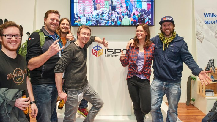 Das große Freeride World Tour Come Together beim ISPO SNOW SUMMIT