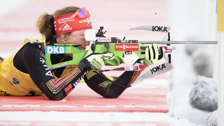 Laura Dahlmeier is successful: she can live off of her sport, thanks in particular to her sponsors.