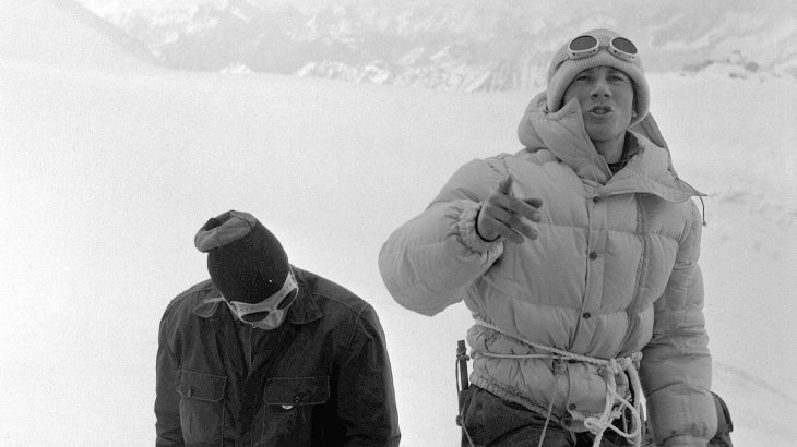 "The Italian Walter Bonatti (1930-2011) was only 19 years old when he ascended the most difficult walls in the alps. In addition, he was part of an expedition in 1954, which mastered the first ascend of the K2. The Petit Dru's south-west pillar was named ""Bonattipillar"" after Bonatti's 6 days-long solo run in 1955. In 1961 he was part of the Mont-Blanc-Expedition, from which 4 alpinists did not return, known as the Freney-Tragedy. Bonatti ended his career as a extreme alpinists in the same year."
