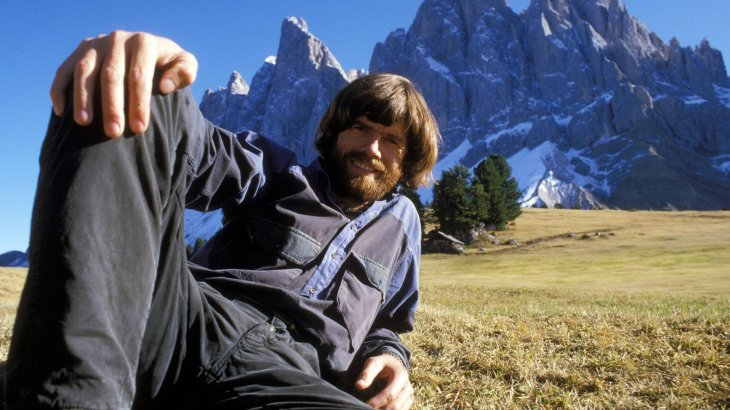 Reinhold Messner is probably the most famous mountaineer in Germany. Born in South Tirol, he was the first to climb the Mount Everest without additional oxygen (1987) and also the first who stood on top of all 14 eight-thousanders (1986). Moreover, the allrounder was the first who ascended an eight-thousanders all on his own (Nanga Parbat, 1978).
