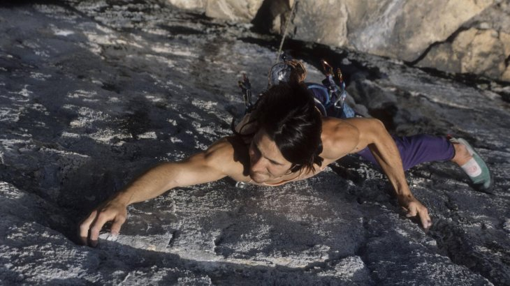 "As the younger half of the ""Huberbuam"" Alexander Huber established his reputation as extreme mountaineer.  The Bavarian holds numerous speed records and is one of the most defining free climbers of the 21st century. As the first human ever, he climbed a 9a+ route (Open Air at the Schleierwaterfall in Austria)."