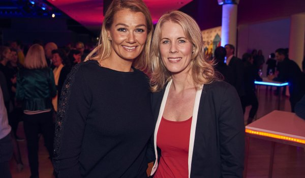 Franziska van Almsick (former swimming World Champion), Tanja Aberle