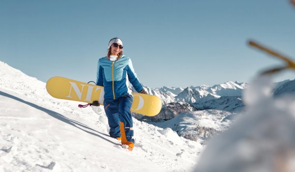 Snowboard Olympic champion Nicola Thost also relies on PYUA