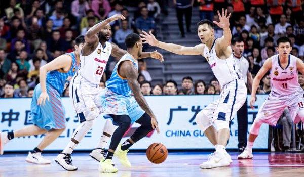 Populär: die Basketball-Profiliga in China, die CBA.