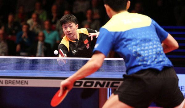 Superstar in China: Tischtennis-Spieler Ma Long.