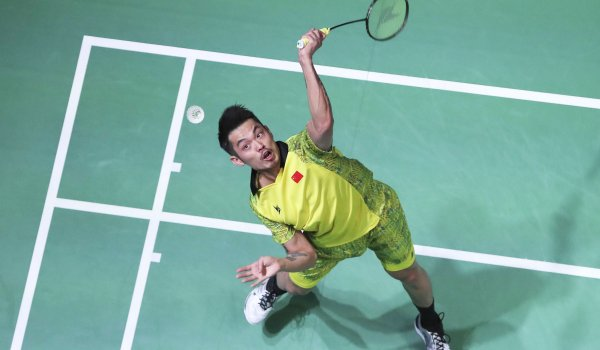 Ein Star in China: Badminton-Ass Lin Dan.