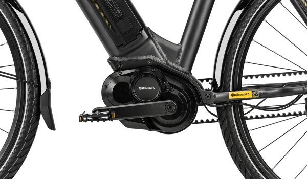 There are now convenient automatic gearshifts on the e-bike market: Continental, for example, has launched the first 48V engine with integrated, continuously variable automatic gearing in one drive unit with its 48 V eBike system.
