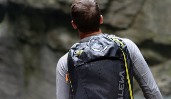 When you're in alpine terrain, you need a backpack that guarantees you freedom of movement and load control when you're climbing.