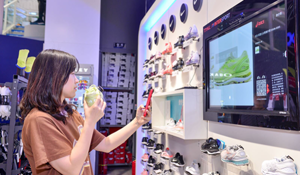 In Beijing, Intersport and Tmall are testing the store of the future with numerous digital features.