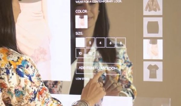 Rebecca Minkoff offers additional customer service through smart mirrors.
