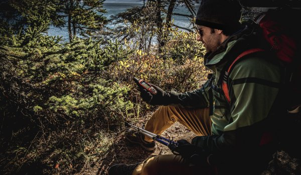 Garmin inReach offers 100 percent global iridium satellite network coverage.