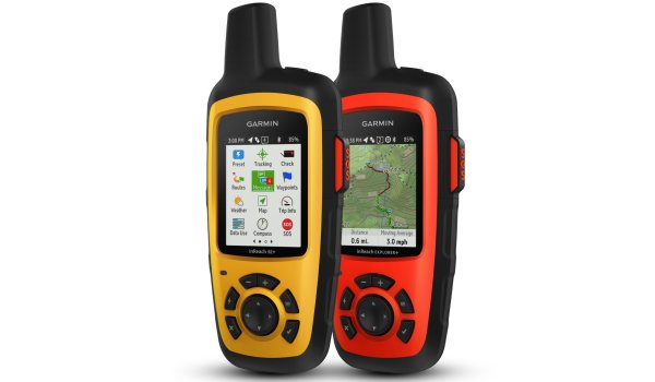 With the inReach Explorer+, Garmin offers an emergency call system that allows navigation via pre-installed topographic maps and an integrated color display directly on the Explorer+, thus combining safety and navigation functionality in one device.