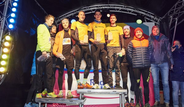 The winner of the 1 Mile Uphill Challenge was Team FitterTec with Lang, Kurzdörfer and team boss Zacharias Wedel.